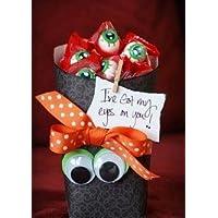 'I've Got My Eyes on You' Halloween Candy Gift Basket