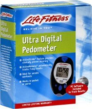 Life Fitness Ultra Digital Pedometer