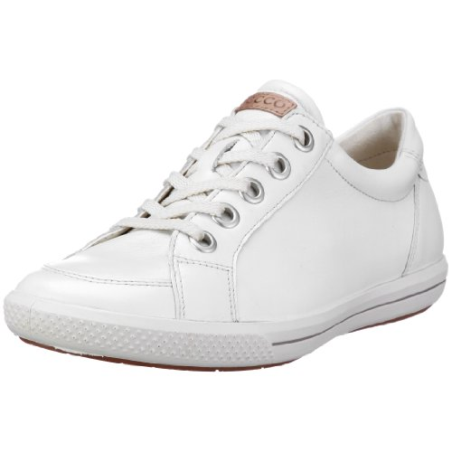 Ecco Summer Zone Women's Half Shoe White/White UK 6