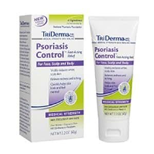 トライダーマ 乾癬用無臭クリーム (62g)/ TriDerma Psoriasis Control 2.2 oz [海外直送品][並行輸入品]