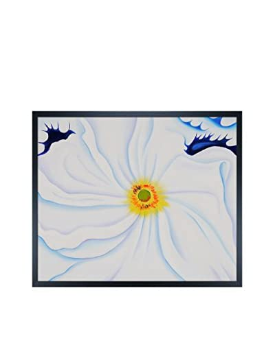Georgia O'Keeffe White Flower, 1929 Framed Hand-Painted Reproduction