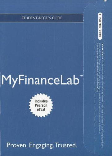 NEW MyFinanceLabTM with Pearson eText - Instant Access - for Fundamentals of Corporate Finance (with Prebuilt Assignments) (MyFinanceLab (Access Codes)) (Myfinancelab compare prices)