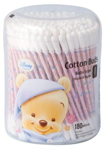 180 pieces Bebipu antibacterial baby cotton swab...