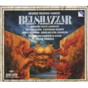 Haendel-Belshazzar,Oratorio-English Concert&Choir-T.Pinnock-