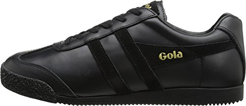 Gola Men's Harrier Mono Fashion Sneaker, Black, 11 M US