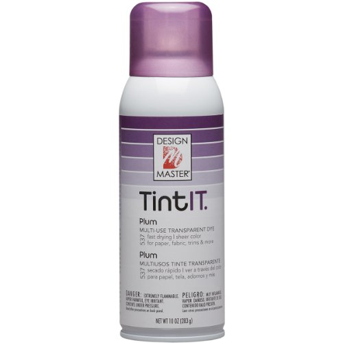 Design Master Tint It Transparent Dye Spray Paint 10 Ounce Plum Food Beverages Tobacco Food
