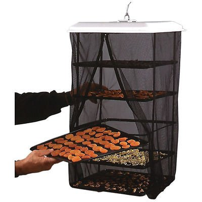 FOOD PANTRIE SOLAR DEHYDRATOR BY HANDY PANTRY - 5 TRAY / NON-ELECTRIC DRYER (Lumina Oven compare prices)