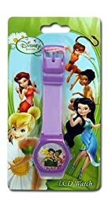 Disney Fairies Tinkerbell Digital Watch on Blister Card
