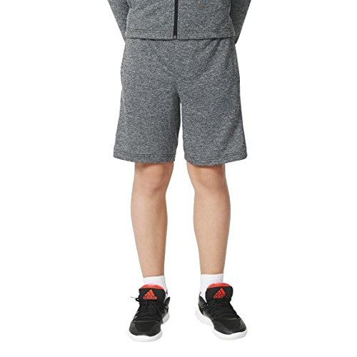 Adidas - Pantaloncini da ragazzo Urban Football, Ragazzo, Urban Football Shorts, Dgh Solid Grey/Night Met. F13, 164