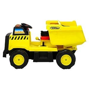 Kid Trax Tonka Dump Truck Electric Ride-On