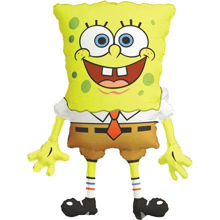 Spongebob Squarepants Mini Shape Balloon (1 ct) (1 per package)