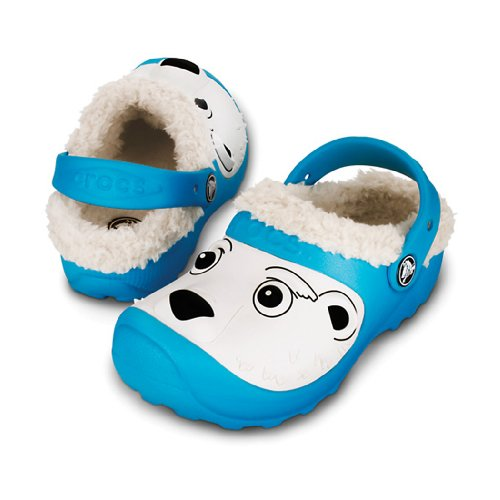 575b3cad4f02 Shoes Boys Clogs   Mules  Crocs Polar Bear Lined Clog (Toddler ...