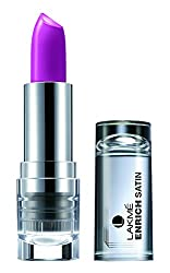 Lakme Enrich Satins Lip Color, Shade W273, 4.3g