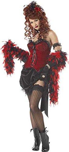 Adult Saloon Girl Halloween Costume Medium