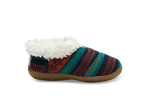 Toms Slippers Picante Woolen Fair Isle 10006600 Tiny 11