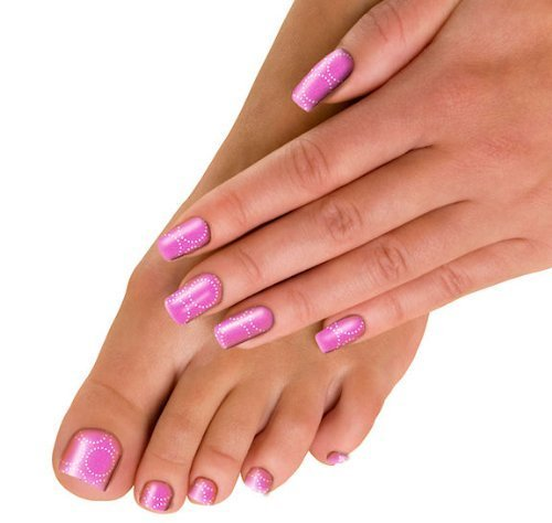 The Edge 'Trendy Nail Wraps - Get Nailed' Bubbalicious Pink 3001329 by The Edge