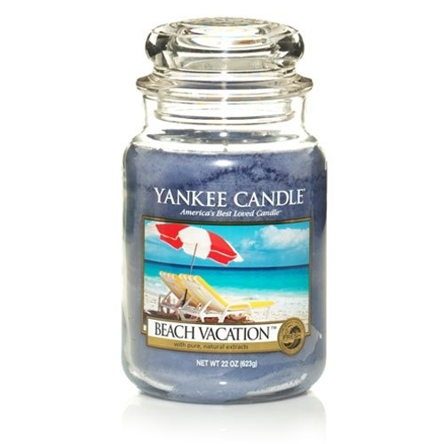 Yankee Candle Company Large Jar Candle Beach Vacation 22 ounce