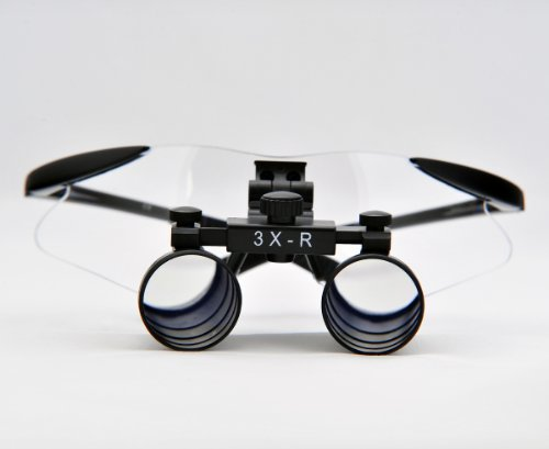 Cm300 3X Binocular Dental Loupes Surgical Loupes Black Colour Tp Sport Frame