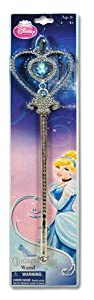 Cinderella Princess Wand with Marabou on Header Card