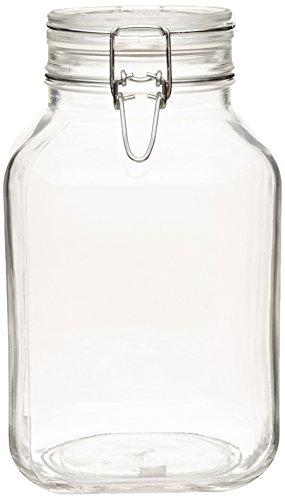 Bormioli Fido Clear Canning Jar 3 Liter