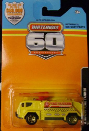 2013 Matchbox 60th Anniversary(Limited Edition) Airport Fire Tanker