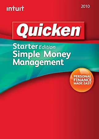 Quicken Starter Edition 2010  [Download] [OLD VERSION]