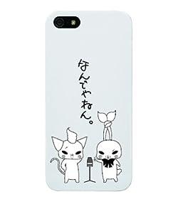 Apple iPhone 5/5s 0636 なんでやねん 2 PC (ハード) ホワイト