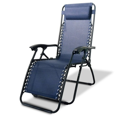 Caravan Canopy Zero Gravity Reclining Chair with Adjustable Headrest Blue  sc 1 th 225 : caravan canopy international - memphite.com