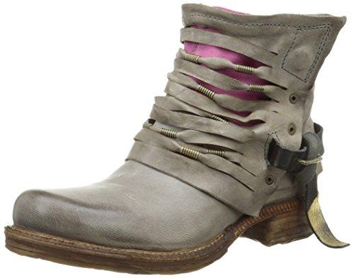 A.S.98520222-0204-0001 - Stivali a metà polpaccio non imbottiti Donna , Grigio (Gris (Grigio)), 41 EU