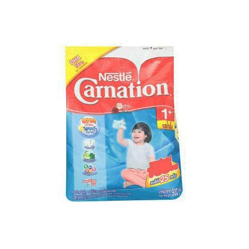 Carnation 1 Plus Honey Flavour With 2.5% Of Fiber And Apple With Spinach Formula Milk Powder 900 G Or 31.76 Oz. front-934247