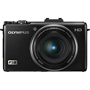 Olympus XZ-1 10 MP Digital Camera with f1.8 Lens and 3-Inch OLED Monitor (Black)