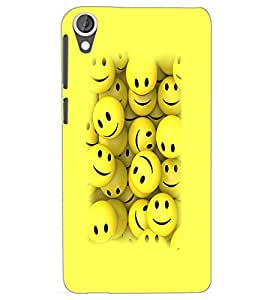 HTC DESIRE 820 SMILEYS Back Cover by PRINTSWAG