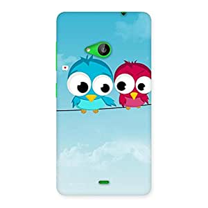 Birds on Wire Back Case Cover for Lumia 535