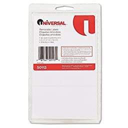 UNV50113 - Universal Removable Self-Adhesive Multi-Use Labels