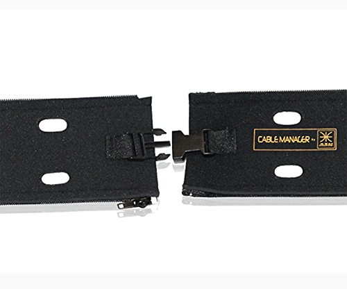 cable management sleeve system by cable manager a 4 pack 20 cord orga. Black Bedroom Furniture Sets. Home Design Ideas