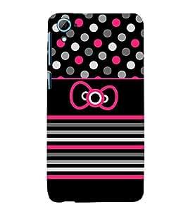 Cute Love Girl Fashion 3D Hard Polycarbonate Designer Back Case Cover for HTC Desire 826::HTC Desire 826 Dual Sim::HTC Desire 826 DS (GSM + CDMA)