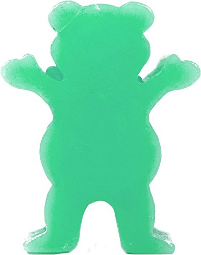 Grizzly Grease Wax Green Skateboard Wax - 1