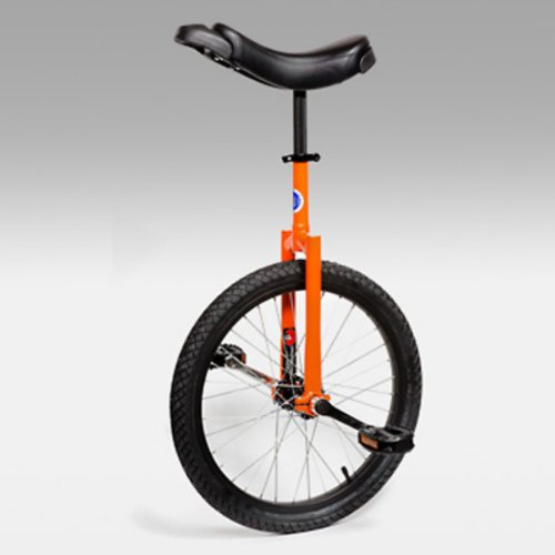 Buy Low Price Club 20 Inch Freestyle Unicycle – Orange (UNI-CLUB-ORG)