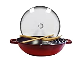 Staub Perfect Pan, Grenadine, 12\