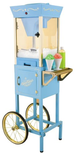 New Nostalgia Electrics SCC 200 Vintage Collection Old Fashioned Snow Cone Cart by Nostalgia Products Group