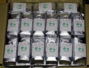 Usda Organic Fairtrade Shade Grown Coffee - 50 Bags, 1/2 Lb Each (Ground Coffee) Vienna - Medium Ro
