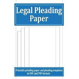 pleading paper