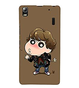 Vizagbeats Animated Boy Back Case Cover for Lenovo A7000