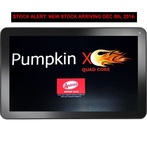 "10.1"" Android Kitkat 4.4 [Quad Core] 32Gb Tablet / 2Gb Ram / Dual Cameras / Bluetooth / Hdmi - Pumpkinx"