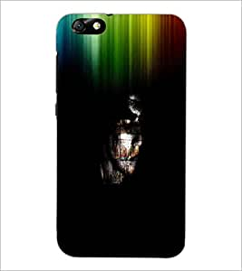 PrintDhaba Abstract Image D-3762 Back Case Cover for HUAWEI HONOR 4X (Multi-Coloured)