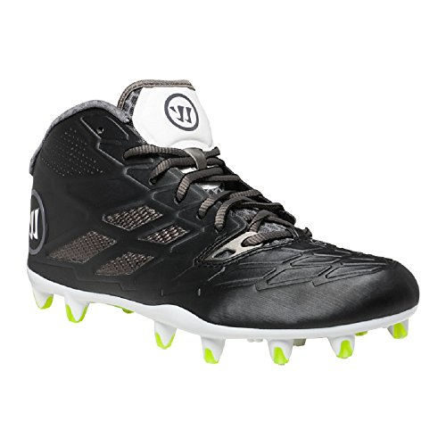 5ea26a78f Warrior Burn 8.0 Mid Lacrosse Cleat – Black (13 (2E)) – Shoes Team ...