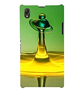 TRICOLOURED FLUIDIC IMAGE OF A CHESS BISHOP 3D Hard Polycarbonate Designer Back Case Cover for Sony Xperia Z1 :: Sony Xperia Z1 L39h