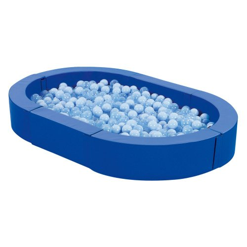 Wesco Wesco Large Tub Ball Pool, Blue, Foam front-914649