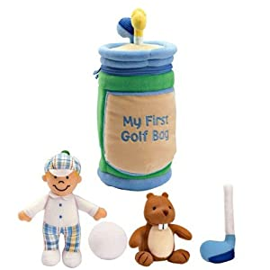 My First Golf Bag Playset By Baby Gund Amazoncouk Toys