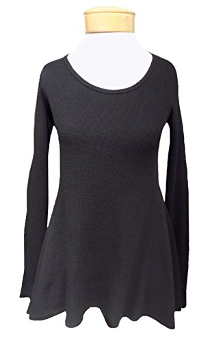 Hard Tail Long Sleeve Frolic T - Black (L, Black)